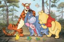 TREFL 24 dílků - Medvídek Pú a přátelé