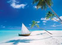 CLEMENTONI 1000 dílků - Maledivy
