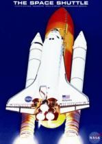 EUROGRAPHICS 1000 dílků : Raketoplán Atlantis
