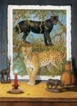 DINO 1000 dílků - Bo Newell, Leopardi