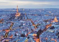 EDUCA 16286 Světla Paříže - 1000 dílků