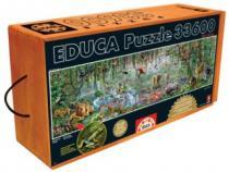 EDUCA Největší světa 33600 dílků - Divočina (Wildlife)