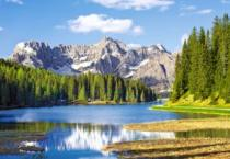 CASTORLAND 3000 dílků - Jezero Misurina (Lago di Misurina)