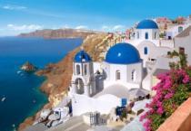 CASTORLAND 1500 dílků - Santorini, Řecko