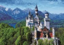DINO 1000 dílků - Zámek Neuschwanstein