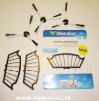Menalux Motorový filtr a kartáče pro robotický vysavač I-Robot Roomba 500 série
