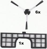 Menalux Motorový filtr a kartáče pro robotický vysavač Samsung NaviBot série