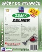 Jolly Sáčky do vysavače Zelmer Delfin 890.0 S textilní 4ks