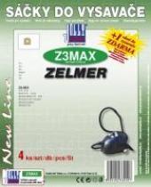 Jolly Sáčky do vysavače JOLLY Z3 MAX textilní, 4ks