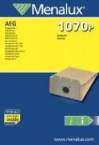 Electrolux Sáčky do vysavače MENALUX 1070P papírové, 10ks