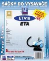 Jolly Sáčky do vysavače ETA 1455 papírové 5ks