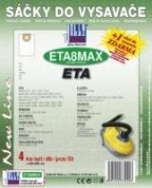 Jolly Sáčky do vysavače Eta 412 Serie Aquill textilní 4ks