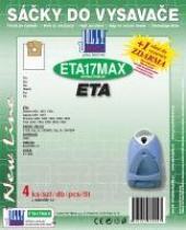 Jolly Sáčky do vysavače Eta 2454 Trino textilní 4ks