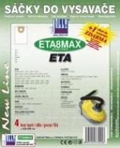 Jolly Sáčky do vysavače ETA 1412 Hot Aquill textilní, 4ks