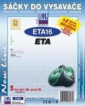 Jolly Sáčky do vysavače ETA Tiro 2417 papírové, 5ks