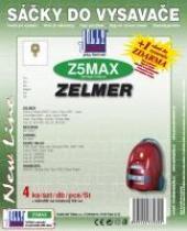 Jolly Sáčky do vysavače Zelmer Cobra II Silent 2500 textilní 4ks