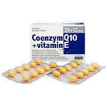 Koenzym Q10 plus vitamin E
