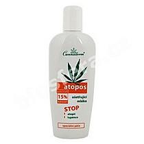 Ošetřující mléko na atopii a lupénku Atopos