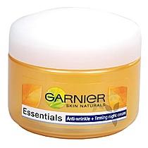 Noční zpevňující krém proti vráskám Essentials  50 ml