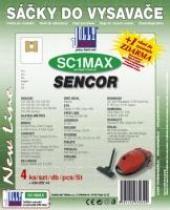 Jolly Sáčky do vysavače Sencor SVC 840 Silenzio textilní 4ks
