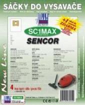 Jolly Sáčky do vysavače SENCOR - SVC 820 BK textilní 4ks