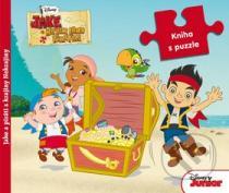 Kniha s puzzle: Jake a piráti z krajiny Nekrajiny