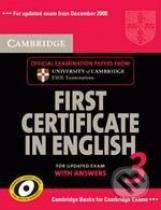 Self-Study Pack: Cambridge First Certificate in English 3