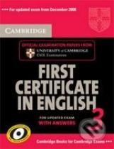 Cambridge First Certificate in English 3
