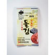 Mořské řasy KIM (NORI) s příchutí kimči 2g