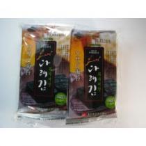 Mořské řasy KIM (NORI) s příchutí wasabi 2g x 8
