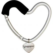 Buggygear Buggy Heart Hook - Karabina ve tvaru srdce na kočárek