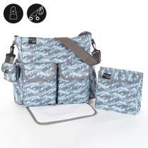 Walking Mum Camouflage Maternity Bags- Přebalovací taška s přebalovací podložkou Boy
