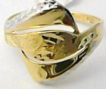 Holan Jaroslav Mohutný široký zlatý prsten z dvojího zlata 585/1,66gr H530
