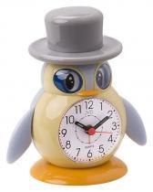 JVD SR52.3 Dětský budík tučňák s kloboukem