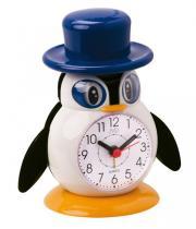 JVD SR52.5 Dětský budík tučňák s kloboukem