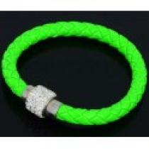Náramek zelený s magnetickým zapínáním NK022