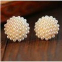 Náušnice perličky NE148