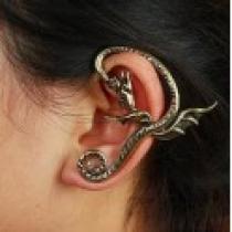 Náušnice na ucho drak NE234