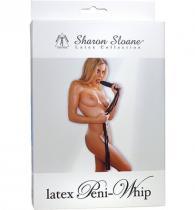 Sharon Sloane Důtka s rukojetí ve tvaru penisu LATEX