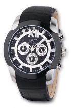JVD V1176.3 steel chronograph