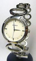 Foibos 21786 3ATM ocelové se zirkony stříbrné