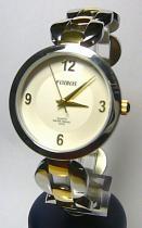 Foibos 21752 3ATM ocelové zlaté se zirkony stříbrné