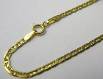 Marcello Diamant zlatý náramek s gravírováním 585/1,90gr 19cm T187
