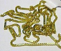 Holan Jaroslav vzorovaný náramek s destičkami 585/0,87gr 19cm H201