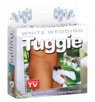 Pipedream WHITE WEDDING TUGGIE