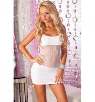 Pink Lipstick Lingerie ADRENALINE SEAMLESS white
