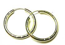 Marcello Diamant velké kruhy - 18mm 585/0,55gr T125