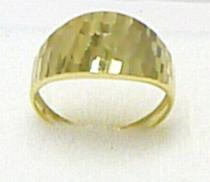 Pretis zlatý velký prsten ze žlutého zlata 585/1,57gr P299