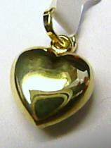 velké srdíčko - srdce 585/0,9gr T130