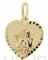 Pretis Zlatý přívěsek, žluté zlato s andělíčkem 2320118